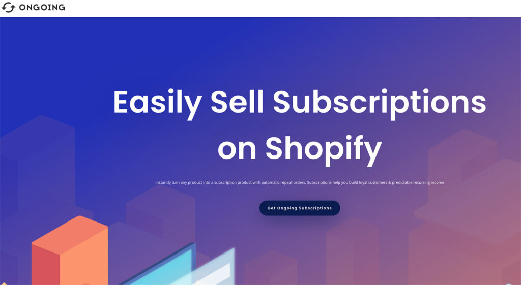 ongoing subscription app shopify