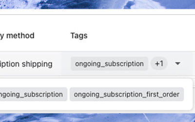 Introducing Order Tags for Subscriptions